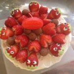 【ハンドメイド】友人へ愛あふれるバースデーケーキ