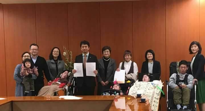 医療的ケア児の実態を激白!茨城県知事への要望書